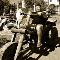 На деревянном Байке... :: Дмитрий Петренко