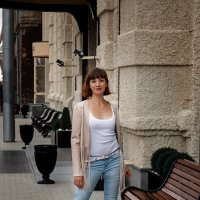 Прогулка по городу :: Вероника Пастухова