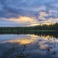 Осенний закат :: Владимир Филимонов