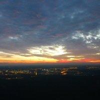 После захода солнца. В 3 минутах от посадочных знаков. :: Alexey YakovLev
