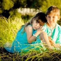 брат и сестричка :: Елена