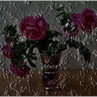 Розы в стакане :: Нина Корешкова
