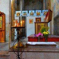 Место захоронения и рака преподобного. :: Sergey Serebrykov