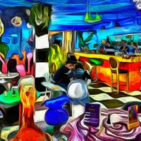 Кафе на Арбате :: Игорь Иванов