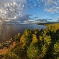 Вид с маяка на побережье Онежского озера. :: Фёдор. Лашков