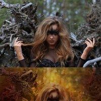 ведьма (до и после) :: Veronika G