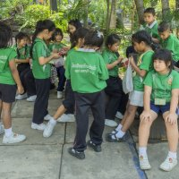 Таиланд. Бангкок. Школьники :: Владимир Шибинский