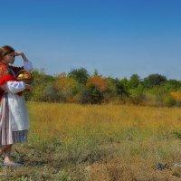 В поле :: Ксения