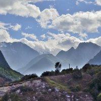 Горные вершины Дигории :: Мария Климова