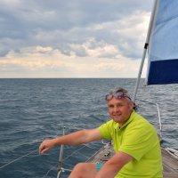 На яхте. Черное море. Вообщем я. :: Михаил Поскотинов