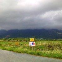 Облака закрыли гору. :: Оля Богданович
