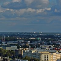 Виды Риги с башни церкви Святого Петра :: Аркадий