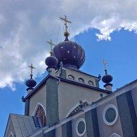 Церковь всех Крымских святых и ФЕОДОРА СТРАТИЛАТА :: Tata Wolf