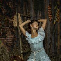 Девушка с яблоками :: Андрей Володин