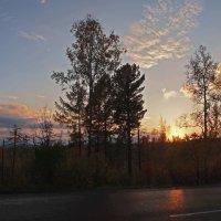 Вот и солнце взошло... :: Александр Попов