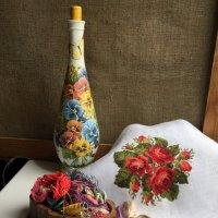 Вышивка крестом - как живопись. :: Anna Gornostayeva