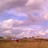 Облака и деревушка :: Елена *