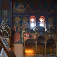 В церкви. :: Оля Богданович