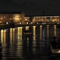 Огни ночного города. :: Андрей Михайлин