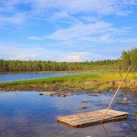 Чёрное озеро :: Сергей Смирнов
