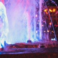 Ночной фонтан :: kot raz