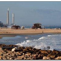 Осенний пляж. :: Leonid Korenfeld