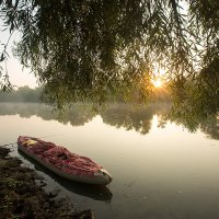 Восход в байдарочном походе :: Ekaterina Catskaya