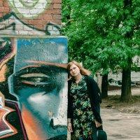 Город и граффити. :: Сергей Гутерман