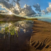 Затопленный пляж :: Фёдор. Лашков