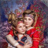 Мама с дочкой :: Наталья Боброва