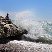 девушка и море :: Лидия Юсупова