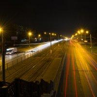 Ночь над городом :: Александр Руцкой