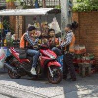 Таиланд. Бангкок. Три товарища :: Владимир Шибинский