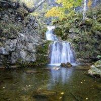 Горный водопад :: Алексей Соминский