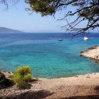 На необитаемом острове Мони (Греция). :: Нелли Семенкина