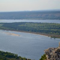 Стрельная  гора  берег Волги :: Александр Канышев