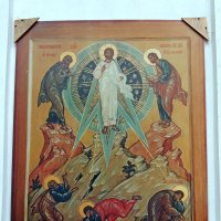"Икона ""Преображение Господне"" на апсиде церкви :: Александр Качалин"