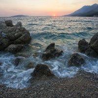 Морской пейзаж, прибоя пена... :: АндрЭо ПапандрЭо
