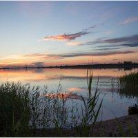 Закат на озере :: Елена Исхакова