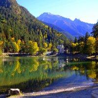 Озеро в горах :: Клара