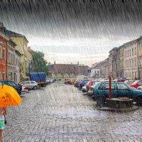 Варшавский дождь :: Андрей Щетинин