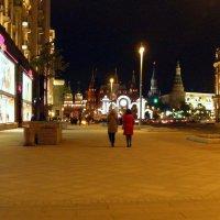 На Тверской вечером... :: Елена