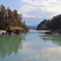 Республика Алтай. Река Катунь. Село Барангол :: Илья Кузнецов