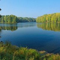 Осенний пруд :: Сергей Винтовкин