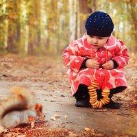 Зимние беличьи заготовки :: Вера Аверьянова