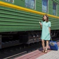 Долгожданный поезд на пути :: Дима Пискунов