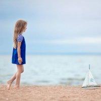 На берегу Финского залива :: Элина Курмышева