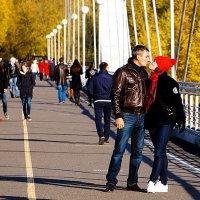 Осенний поцелуй :: Екатерина Торганская