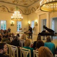 Фестиваль Кофе&Jazz в Павловске. Выступление А.Чижика :: Vadim Odintsov