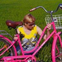 с розовым велосипедом :: Андрей Козлов